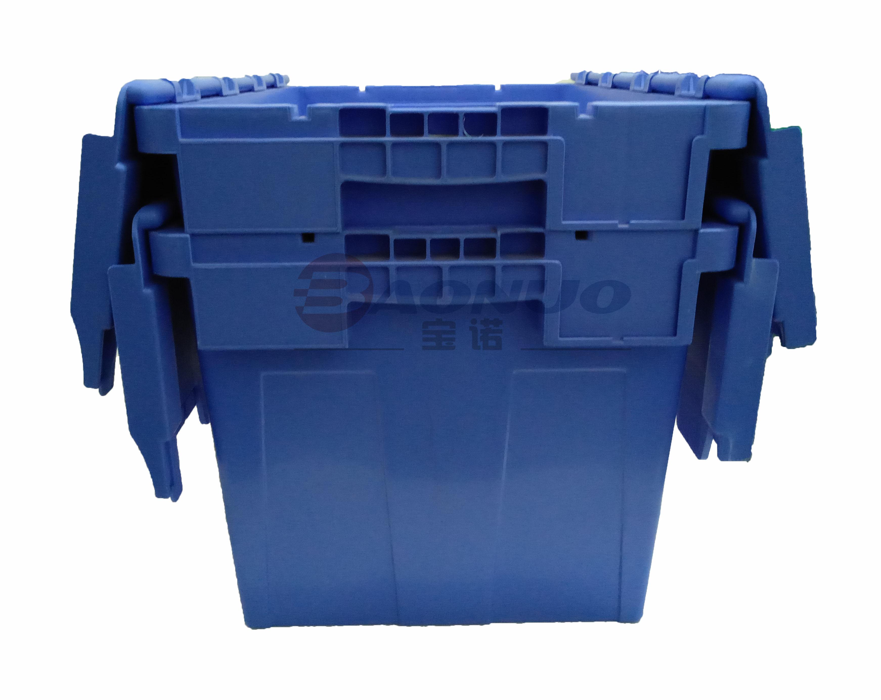 可插式物流箱套叠图
