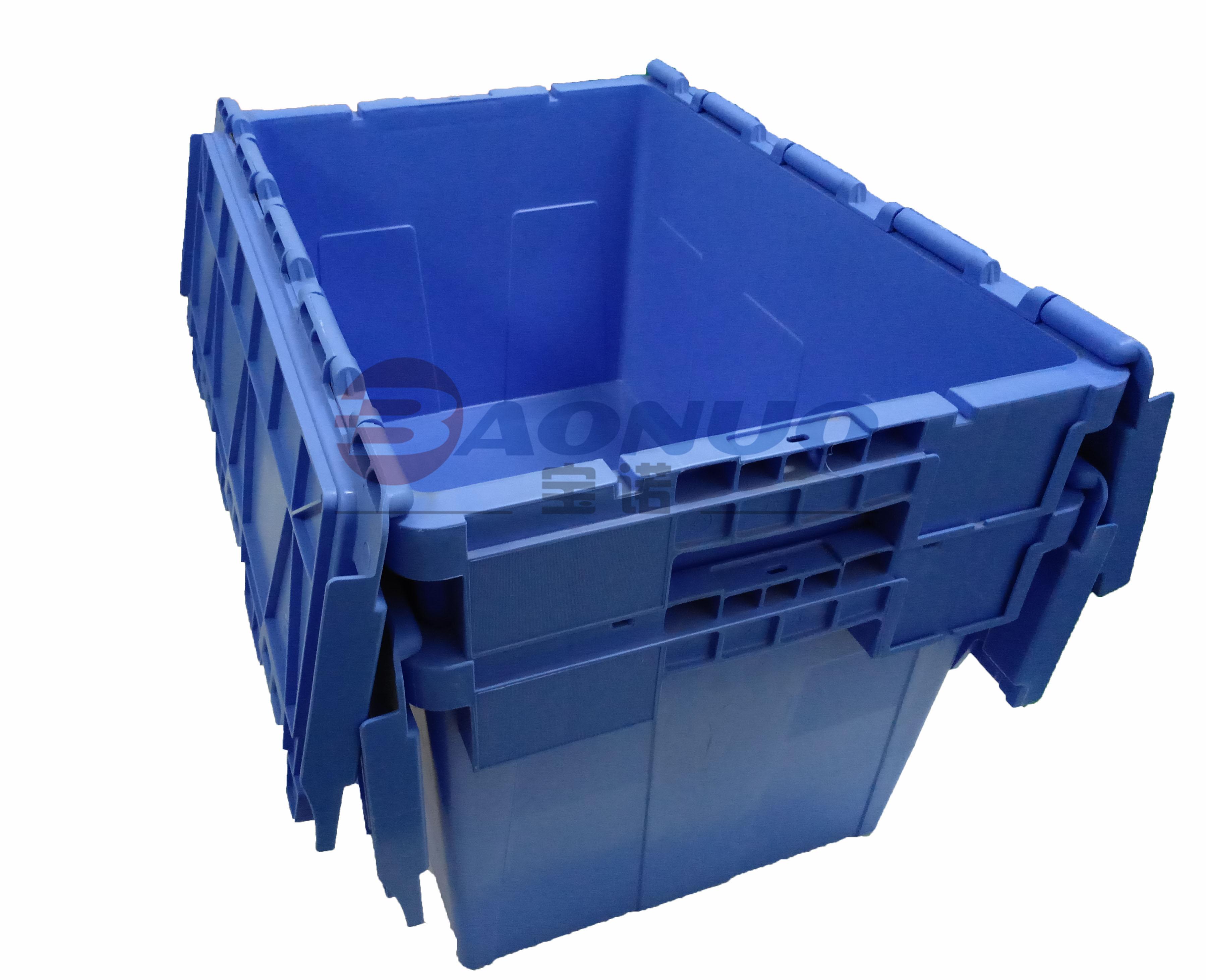 可插式物流箱套叠图2
