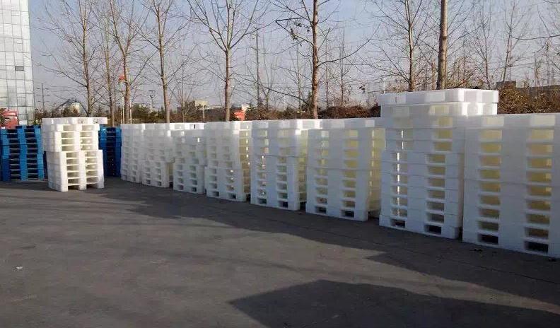 塑料托盘环保性,塑料托盘环保,白色塑料托盘